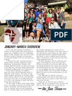 January March Newsletter