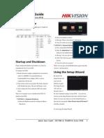 Quick Start Guide of DS-7208 & 7216HVI-S DVR(V3.0.0)