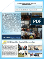 Florida Department of Health in Franklin County April 2015 Wellness Newsletter