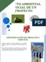 Impacto Ambiental y Social de Un Proyecto