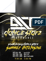Summer Intensive Brochure