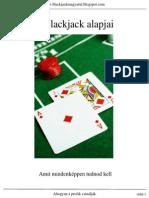 El Finito - A Blackjack Alapjai