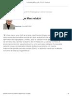 La clase social que Marx olvidó - 17.12.2014 - lanacion