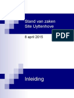 Presentatie Site Uyttenhove_8 April 2015