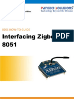 Interfacing Zigbee With 8051
