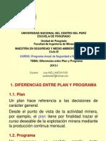Diferencias Entre Plan y Programa