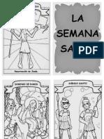 La Semana Santa - Historieta Infantil, 2015