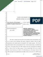 Chandler v. Pfizer, Inc. - Document No. 2