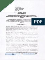 DECRETO No. 007 DEL 07 DE ENERO DE 2015.
