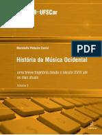 EM HistoriadaMusicaOcidental UmabrevetrajetoriadesdeoseculoXVIIIateosdiasatuais
