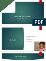 thomas case presentation pdf