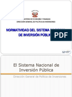 Clase 3 4 Normatividad Del SNIP