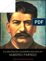 Iósif Stalin; La desviación socialdemócrata en nuestro partido, 1926.pdf