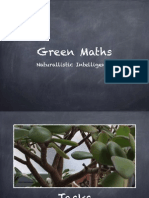 Green Maths