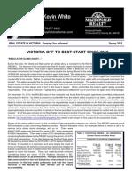 Spring 2015 Victoria Real Estate Newsletter