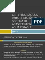 03. Criterios Básicos Para El Diseño