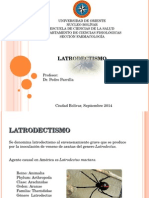 latrodectismo