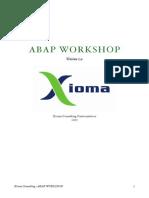 ABAP Manual Xioma 1.0
