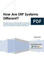 Whitepaper How Are ERP Systems Different