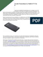 Huawei Lanza Al Mercado Venezolano La Tablet S7 Y Su Celular Ideos C8150