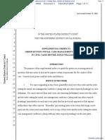 American Civil Liberties Union of Northern California et al v. United States Department of Defense et al - Document No. 3