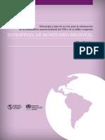 Estrategia Regional Monitoreo 2013(eliminación de la transmisión maternoinfantil del VIH y de la sífilis congénita)