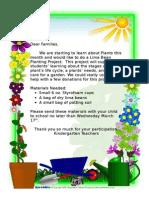 plant donation letter