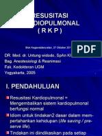 07 Dr Untung Resusitasi Kardiopulmonal Rkp