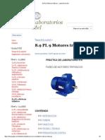 Identificación Terminales Motores 3F