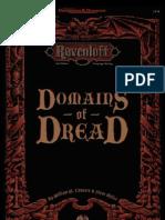 AD&D 2.0 Ravenloft - Campaign Setting, Domains of Dread