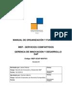 MOF - Gerencia de Innovación y Desarrollo SAP