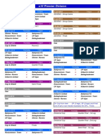 2015 - u16 Premier Division