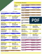 2015 - u12 Premier Division
