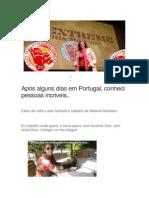 Após Alguns Dias Em Portugal