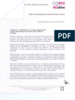 Carta de Mancera a jornaleros de San Quintín