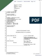 Apple Computer Inc. v. Burst.com, Inc. - Document No. 14
