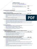 HMA Resume 2015