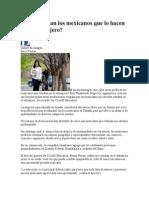 Qué Estudian Los Mexicanos Que Lo Hacen en El Extranjero