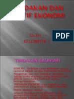 Tindakan, Motif, Dan Prinsip Ekonomi Ok
