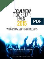 Social Media Rockstar Event Sponsorship Brochure