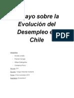 Ensayo Sobre La Evolución Del Desempleo en Chile