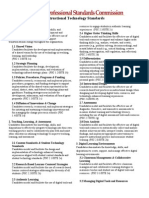 psc standards flyer
