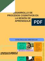 Desarrollo de Procesos Cognitivos en La Sesion de Aprendizaje