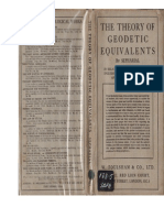 Sepharial (1924)_The Theory of Geodetic Equivalents [32 p.]