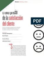 El Alto Precio de La Satisfacción Del Cliente