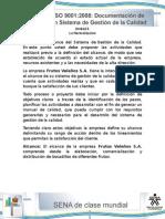 Actividad de Aprendizaje Unidad 2- Generalidades de La Documentacion