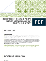 inquiry project presentation