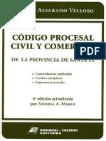 Indice del Código Procresal Civil y Comercial de la Provincia de Santa Fe