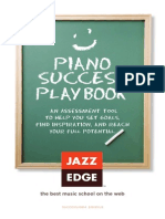 Piano Success Playbook