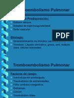 Tomboembolismo Pulmonar HENRY CV